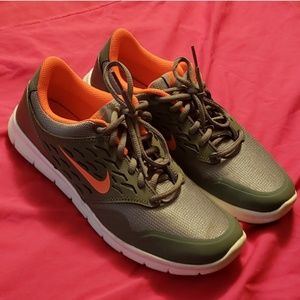 Pink and grey Nike Gym Shoes